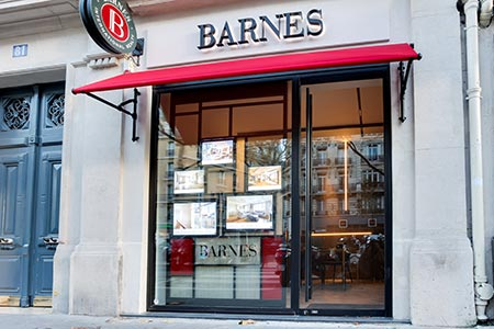 Luxury real estate agency BARNES RENTALS TROCADÉRO